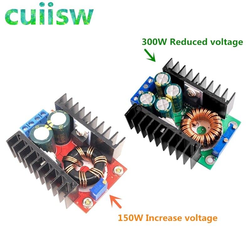 1 шт./лот, повышающий преобразователь 150 Вт, 300 Вт, понижающий преобразователь, 5-40 В до 1,2-35 в, модуль питания XL4016, повышающее напряжение, зарядн...