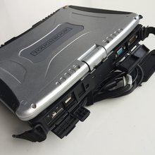 Computador diagnóstico automático de cf19 portátil toughbook cf-19 ram 4g 2 anos de garantia escolher hdd para mb c3 c4/c5 forbmw icom a2/a3