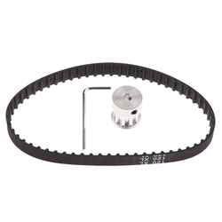 XL10 10 Teeth 5mm Bore Timing Pulley Wheel 120XL Timing Belt For Lathe CNC