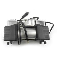 Puissance 12V 150PSI 2 cylindre voiture compresseur d'air pneu gonfleur pompe universelle pour voiture camions vélo Portable d'urgence robuste
