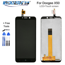 WEICHENG 5.0''For Doogee X50 X50L LCD Display+Touch Screen Digitizer Assembly For Doogee X50/X50L