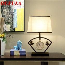 Lampa stołowa lampka na biurko nowoczesny współczesny biuro do kreatywnej dekoracji łóżko lampa LED tkanina do Foyer salon sypialnia Hotel