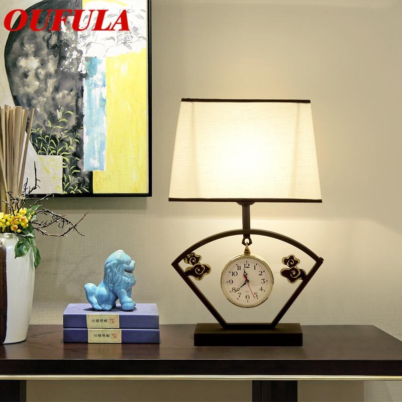 Işıklar ve Aydınlatma'ten LED Masa Lambaları'de Masa lambası masa ışığı Modern çağdaş ofis yaratıcı dekorasyon yatak LED lamba kumaş fuaye oturma odası yatak odası otel title=