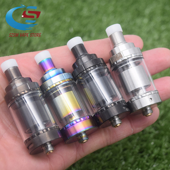 Siren V2 GTA MTL Vape Tank 24mm diameter 2ml/4.5ml capacity E cigarette Tank Atomizer Airflow Options Adjustment vs Phobia V2