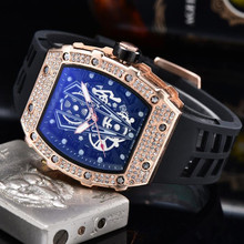 RM Diamond Mens Watches richard Limited Edition 2020 Mille Top Brand Lu