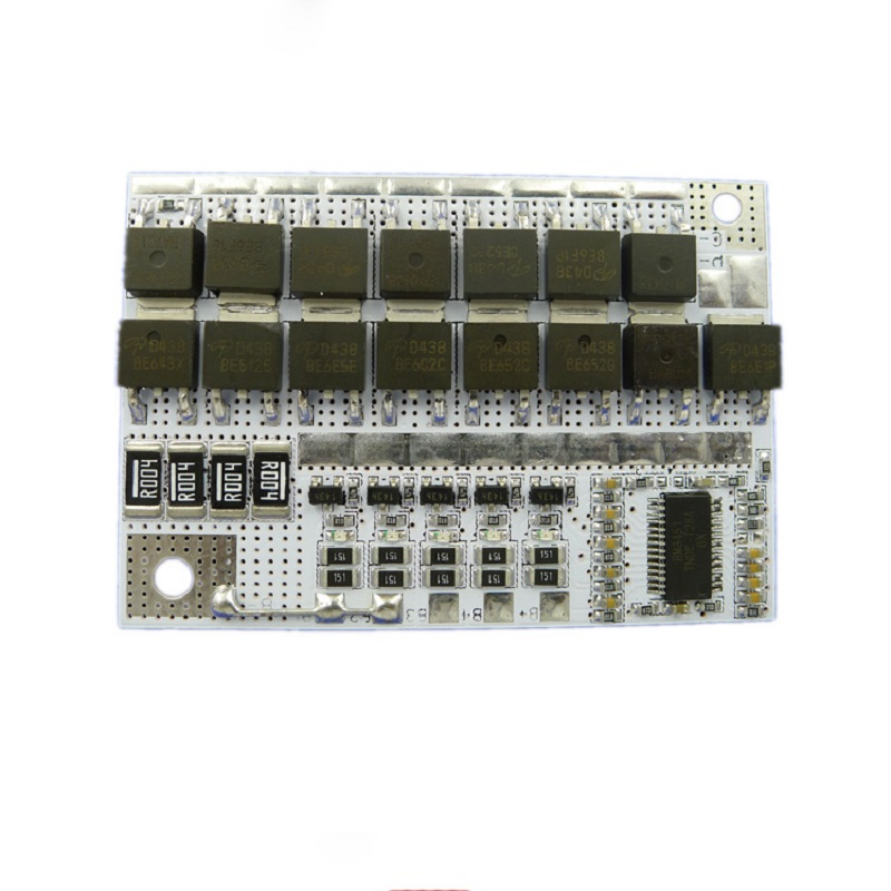 <font><b>5S</b></font> BMS 18V 100A Li-ion Battery Pack <font><b>Protection</b></font> Circuit Module LiFePO4 Lithium Balance Charging Board PCM <font><b>18650</b></font> Circuit Board image