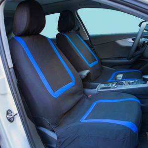 Image 2 - O SHI CAR Fashion Sports Style Automobile Seat Cover Universal Fabric Chairs Protective Sleeve Auto Seats Case Cars Accessories