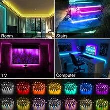 LED Strip Waterproof 2835 DC12V 5m/lot Flexible LED Light RGBWW 2835 LED Strip White / Warm White /Red / Greed / Blue