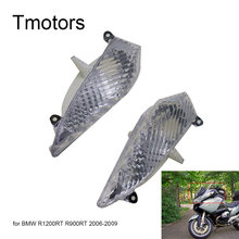 Clear Motorfiets Richtingaanwijzers Lens Knipperlicht Moto Draaien lights Cover case voor BMW R1200RT R900RT 2006 2007 2008 2009 06 07(China)