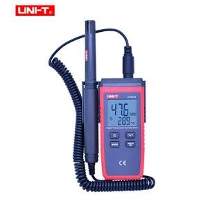 Image 2 - UNI T UT333S מיני טמפרטורת לחות מד ללא מגע מדחום מדדי לחות עומס יתר אינדיקציה LCD תאורה אחורית