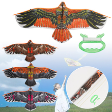 Eagle Kite Flying-Bird Garden Trips Outdoor Large Children Sports with 30-Meter Gift