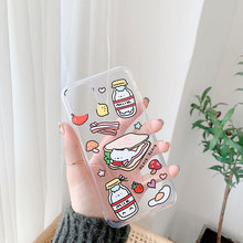 2020 Fashion Food Case For iPhone 11 11P
