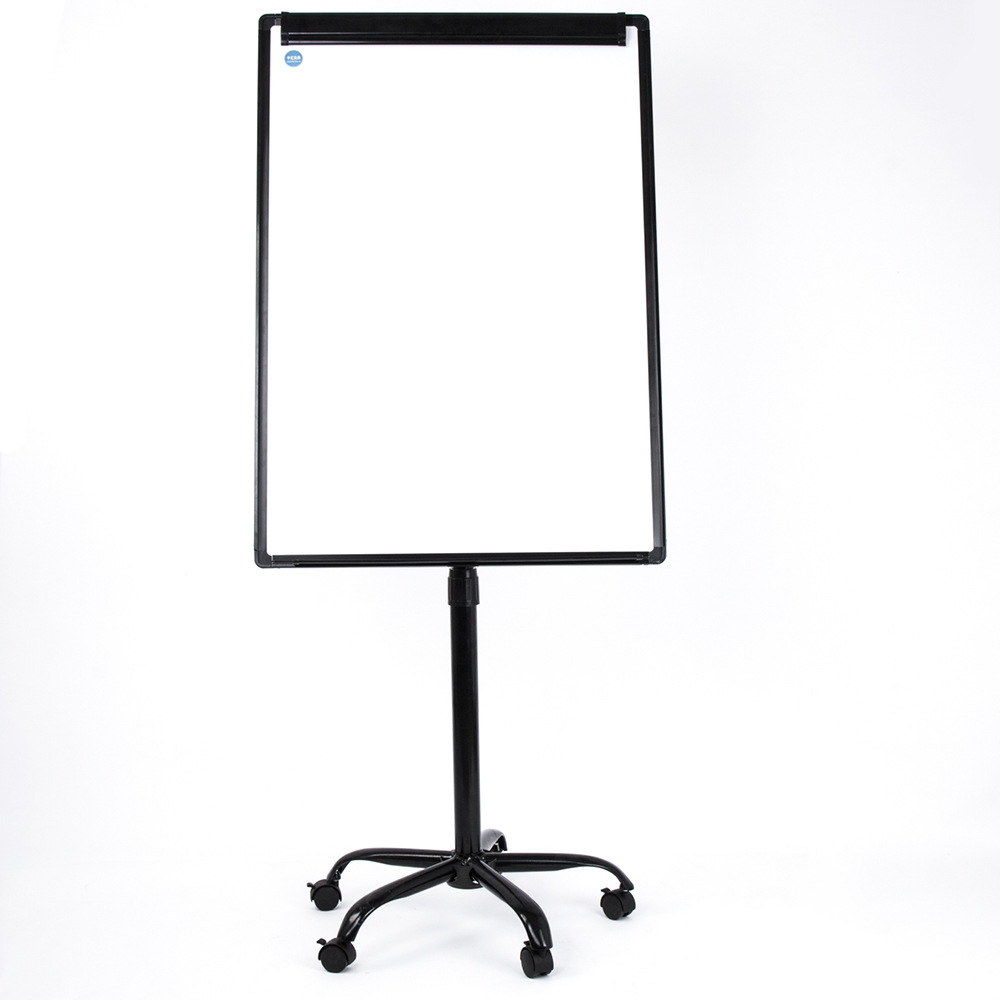 Qianhui Mobile Prong Rack Magnetic Bracket 70*100 Whiteboard Frame Height Adjustable For Home & Office Use Whiteboard
