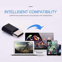 OTG Android tipo c a Micro USB Adaptador tipo c interfaz teléfono móvil línea de datos convertidor de carga transmisión de alta velocidad
