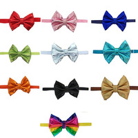 50pcs Pet Accessories Dog Bow Tie Pet Dog Cat Weeding Decoration Large Middle Dog Bow Ties Pet Grooming Products
