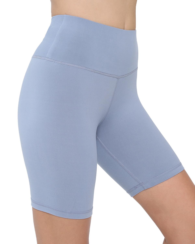SVOKOR Seamless Biker Shorts Women Solid Push Up Fitness Shorts High Waist Clothing Workout Short Comfortable Female