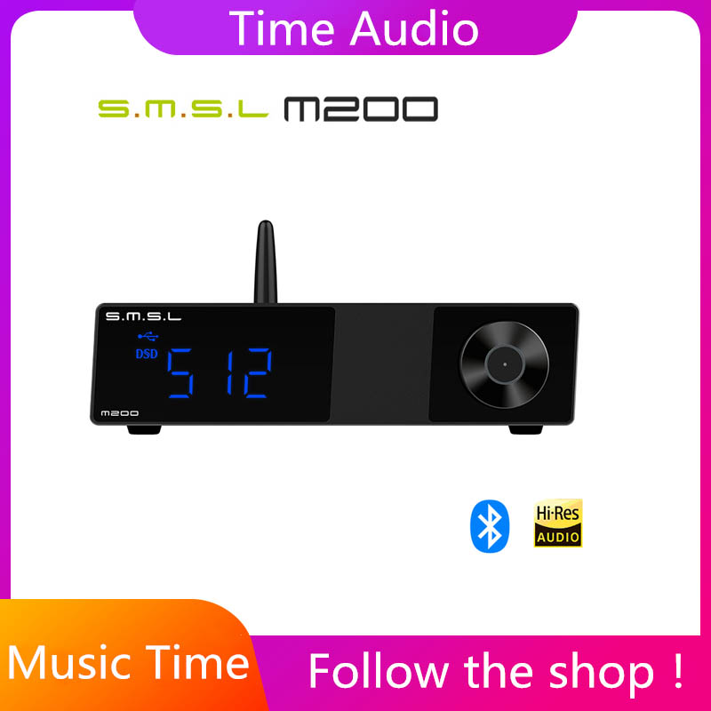 SMSL M200 High-res Bluetooth Audio Decoder Wireless 5.0 <font><b>DAC</b></font> AK4497EQ Support LDAC <font><b>32</b></font>-bit <font><b>768</b></font> KHz DSD512 Digital <font><b>Usb</b></font> Decoder image