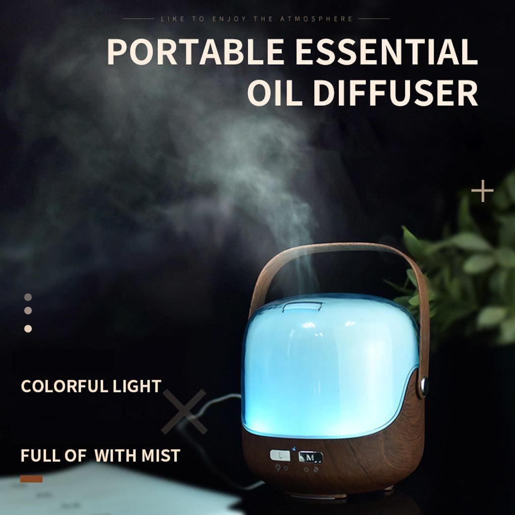 Ev Aletleri'ten Nemlendiriciler'de 250ml hava nemlendirici usb araç humidificador umidificador aromalı uçucu yağ difüzör spreyi aromaterapi mist maker kbaybo title=