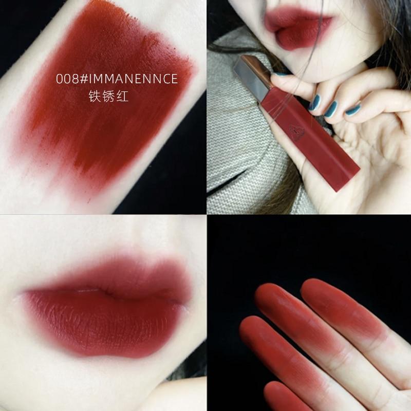 Conjunto de batom guicami12 cores, batom matte hidratante para lábios, maquiagem de longa duração