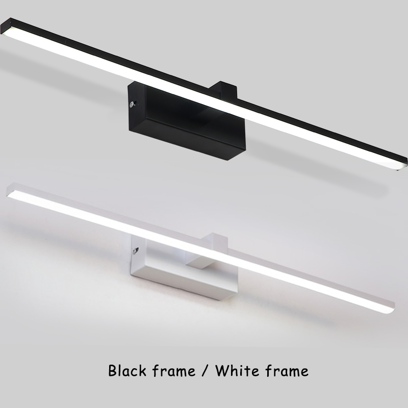Permalink to Hot Sale Modern LED Wall Light For Home White&Black Finished Bathroom Lamp Mirror Front Lights LED Wall Lamps
