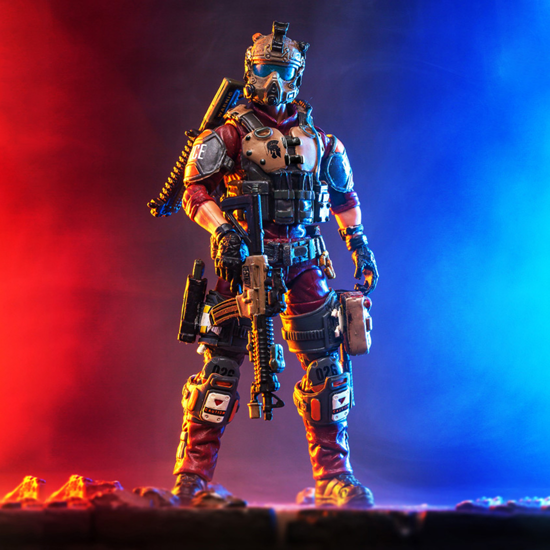Hot 10.5cm Removable USMC Hero Action Figure Soldier Model Collection With High Degree Of Reduction Figure Collectible Model Toy