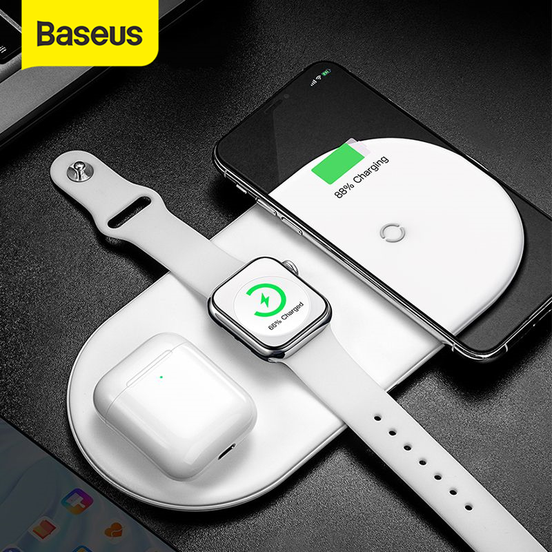 Baseus Wireless Charger For iPhone 11Pro XR XS MAX