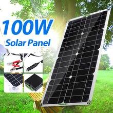 Complete-Charger Power-Bank Solar-Panel-Kit Boat Monocrystalline Smartphone Waterproof