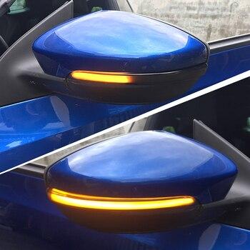 2pcs Dynamic Rearview Mirror Indicator Blinker Side LED Turn Signal Light For Volkswagen VW Passat B7 Scirocco MK3 CC EOS Beetle