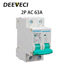 2P 6A 10A 16A 20A 25A 32A 40A 50A 63A mcb Circuit Breaker 230V 400V AC MCB Miniature Circuit Breaker 2p 32a dc 440v circuit breaker mcb
