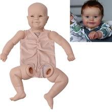 20 Polegada 51cm reborn boneca maddie kit em branco realista tecido recém nascido corpo bebe reborn boneca unpainted inacabado peças de boneca diy kit