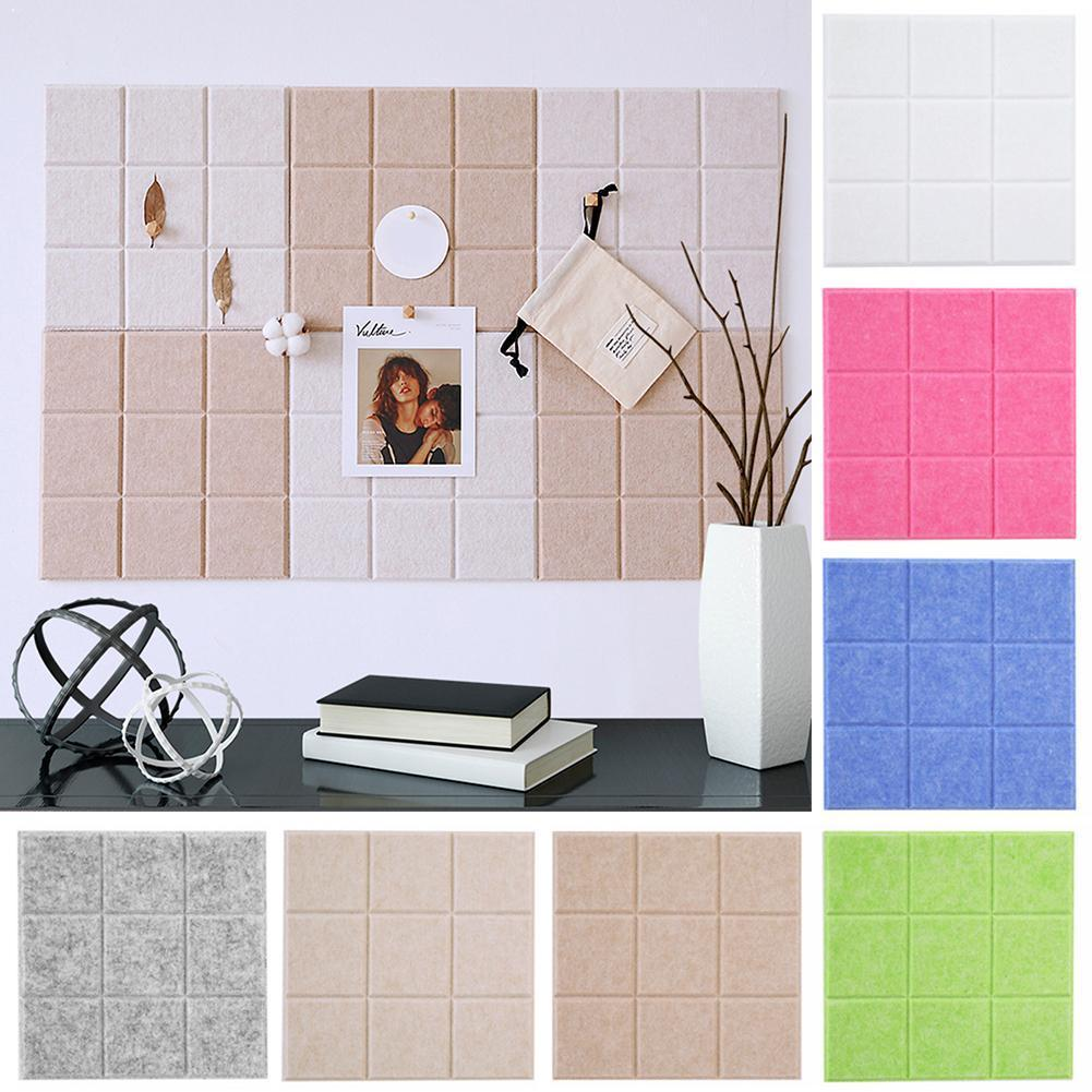 Nordic Style Felt Letter Note Board Message Board Home Office Display Decoration 30x30cm Planner Decor Board Photo Wall Sch K4m0 Finely Processed