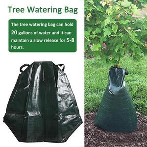 Мешок для полива деревьев на 20 галлонов, мешок для медленного полива, мешок для капельного орошения деревьев, садовый инструмент, сельскохо...