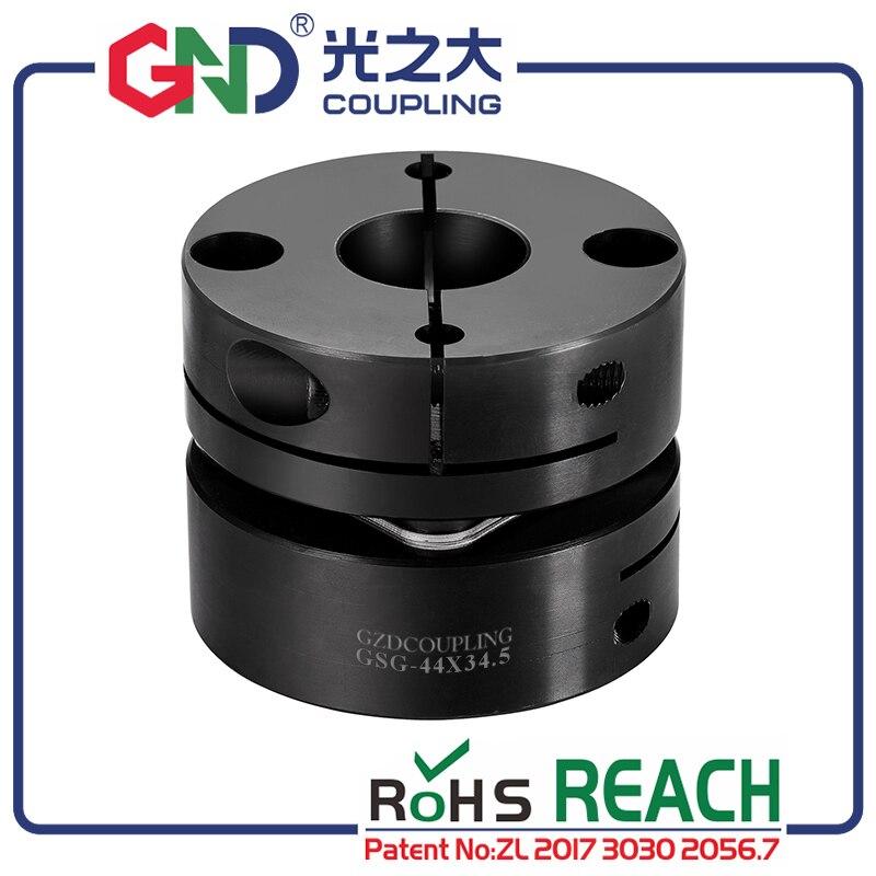 GSG 45 # стальной одиночный зажим диафрагмы серии GND муфта вала D19mm, L20mm
