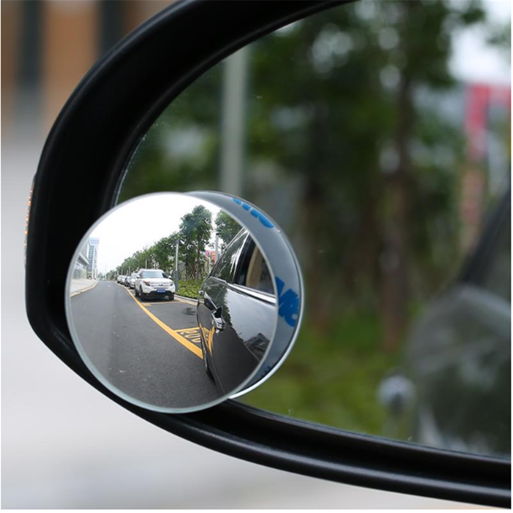 Rimless Mirrors 360 Degree HD Blind Spot Mirror Adjustable Car Rearview Convex Mirror for Car Reverse Wide Angle Vehicle Parking