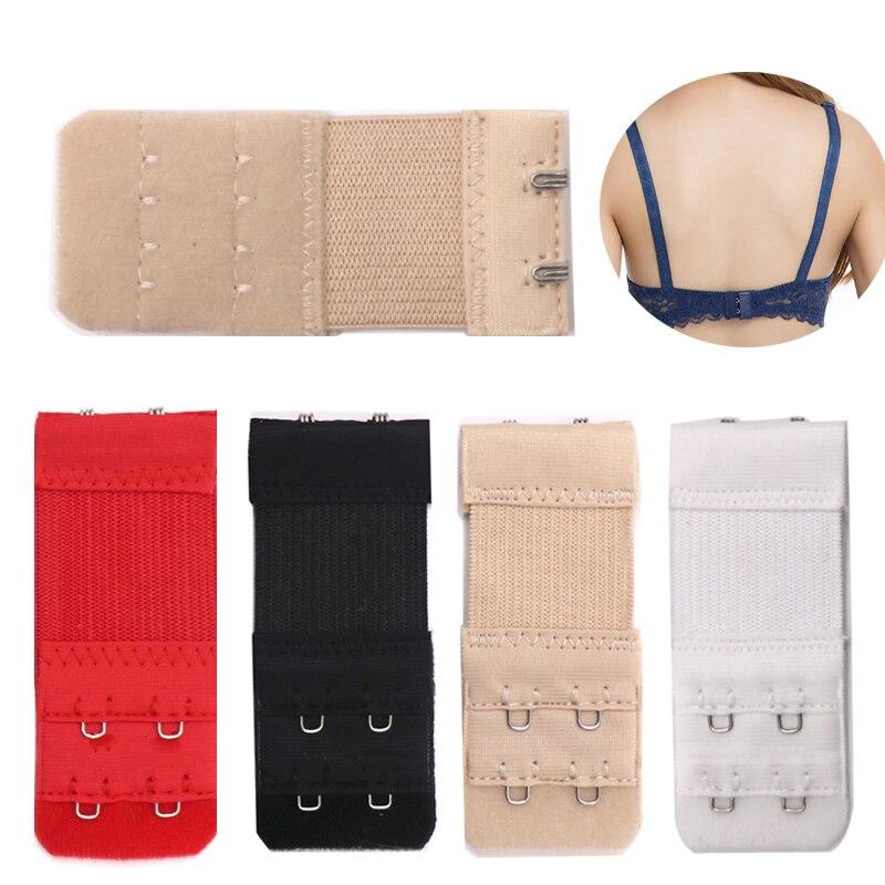 3/4pcs Back Bra Extender Clip Strap Extension 2/3 Hooks Bra Extensions Strapless Women's Underwear Expander Bra Hooks Intimates