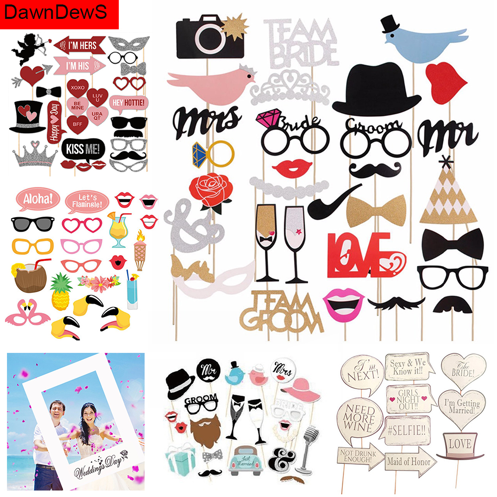 Selfie Photo Booth Wedding Gift Hen Party Girl Bachelorette Photobooth Props To Be Bride Bridal Shower Mr Mrs Wedding Decoration