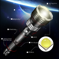 120000 lumens XHP70.2 lampe de poche LED le plus puissant usb Zoom torche LED tactique xhp50 18650 ou 26650 batterie Rechargeabl