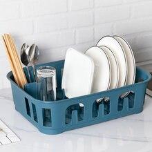 Кухонные полки для сушки посуды в скандинавском стиле пластиковые