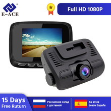 E-ACE B24 Car Dvr  2.0 Inch mini Dash Cam Full HD 1080P Car Camera Video Registrar Dual Lens Recorder Video Automotive Dvr