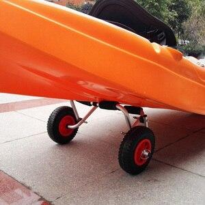 Image 5 - 2 יחידות\סט 10 0.88 עמיד לנקב הוכחת גומי צמיג על אדום גלגל עבור קיאק עגלת עגלת סירת קרוואן קיאק עגלת גלגל