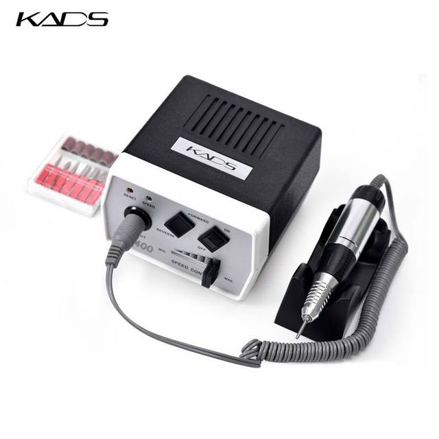 KADS 30000RPM מניקור פדיקור חשמלי מכונת 35W נייל תרגיל עט סט שחור נייל מקדחת מכונת מניקור פדיקור כלים