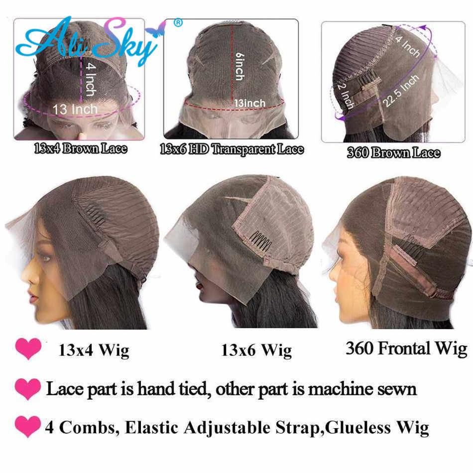 De la onda del cuerpo de Malasia peluca 180% frente de encaje pelucas de cabello humano para las mujeres negras 13X6 de la onda del cuerpo de la peluca con malla frontal Pre arrancó cabello Remy