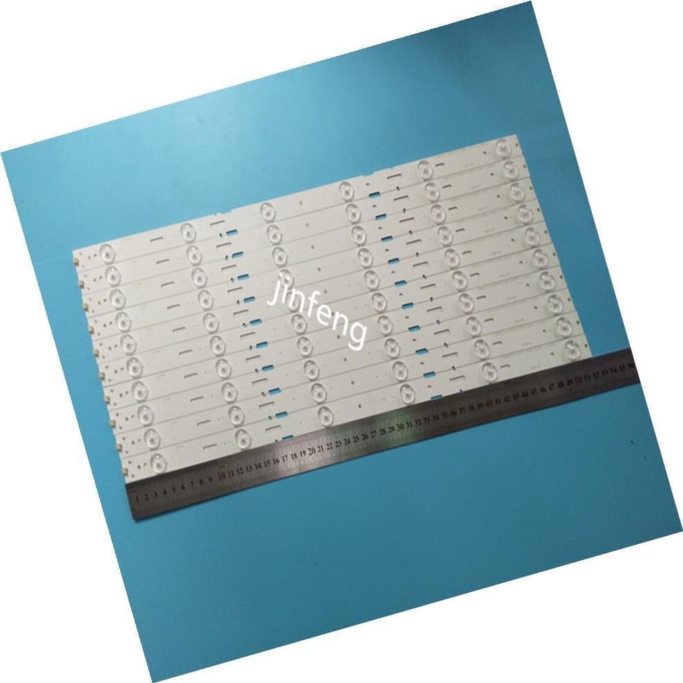 100% New 10pcs/Kit LED Strips For GRUNDIG 48 TV 48VLE5421 48VLE5421BG LSC480HN03 SAMSUNG 2013ARC48 3228N1 6 REV1.0 131209
