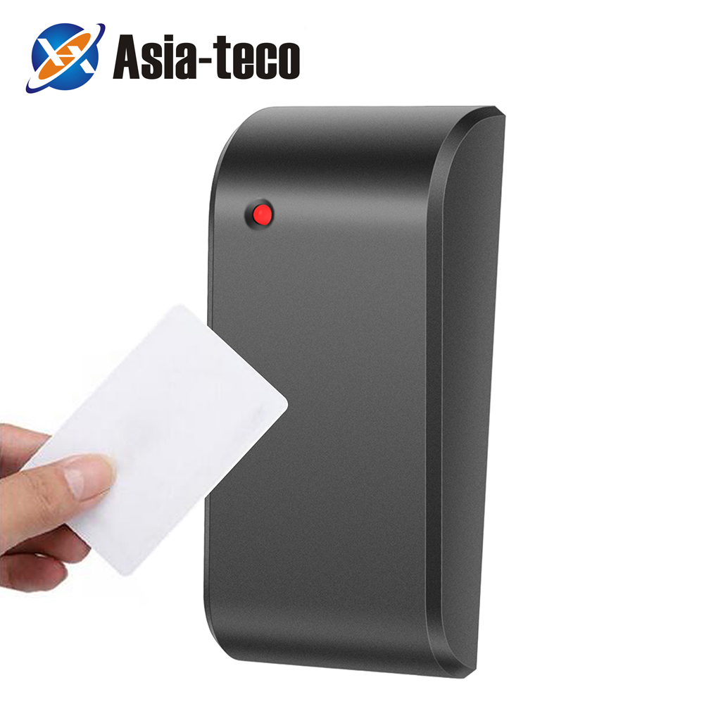 IP68 Waterproof 125KHz/13.56MHz Access Control RFID Card Reader Smart Proximity Card Reader Weigand 26/34 Reader