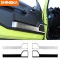 SHINEKA Auto Aufkleber für Suzuki Jimny JB74 2019 + Auto Tür Innen Lagerung Dekoration Abdeckung Zubehör für Suzuki Jimny 2019 +