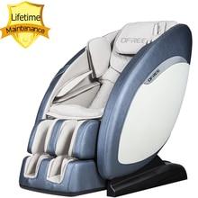 цена на S5 Super luxury Smart Massage Chair 3D Arm Zero Gravity Massage Sofa SL Track Heating Body Massage Relaxation