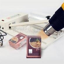 SKA-300 POF film sealing and shrink machine, phone/mobile/cigarette/Cosmetics box packaging machine,220V, POF film buy extra