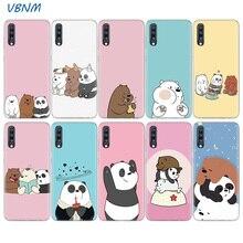 Cartoon We Bare Bears Panda Cute Soft Case For Samsung Galaxy A70 A50 A20E S10E S10 Plus A40 A30 A20 A10 A60 A80 M40 M30 M20 M10