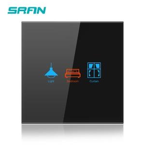 Image 4 - SRAN ab duvar Wifi ışık anahtarı 1/2/3Gang 1/2Way Interruptor akıllı, TUYA akıllı kablosuz anahtarı Alexa Google ev ile çalışmak