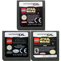 DS Game Cartridge Console Card Legoe Series English Language for Nintendo DS 3DS 2DS